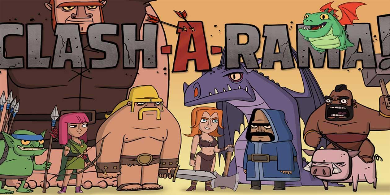 کارتون جدید Clash-A-Rama