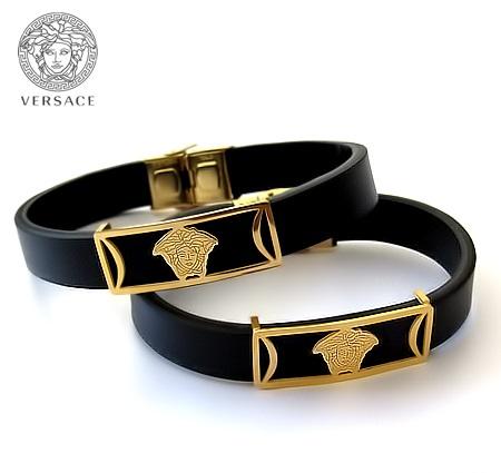 دستبند چرم طرح ورساچه Versace Bracelets