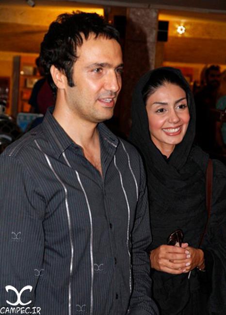 محمدرضا فروتن با همسرش