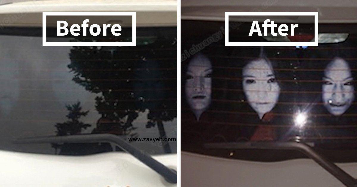 ضدحال چینی ها به راننده هایی که نور بالا حرکت میکنند