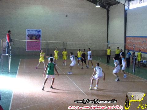 دبیرستان مطهری قهرمان والیبال مدارس متوسطه ممسنی