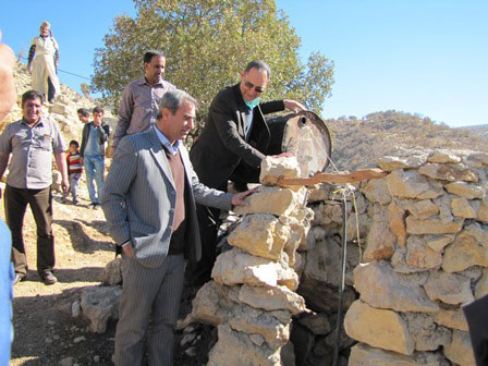 بازدید مدیر کل امور عشایر فارس از منطقه عشایری زیرعنای رستم