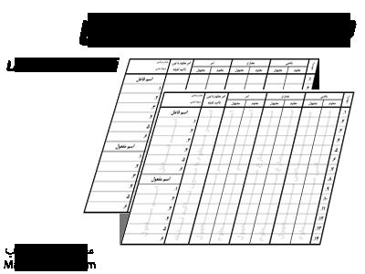 جدول تمرین صرف فعل + دانلود (لینک ها اصلاح شدند)