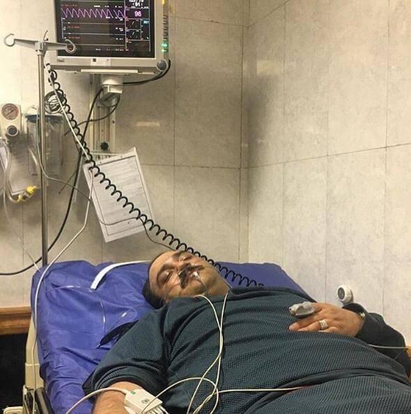 عکس بستری شدن مهران غفوریان در بیمارستان+علت ماجرا و آخرین وضعیت