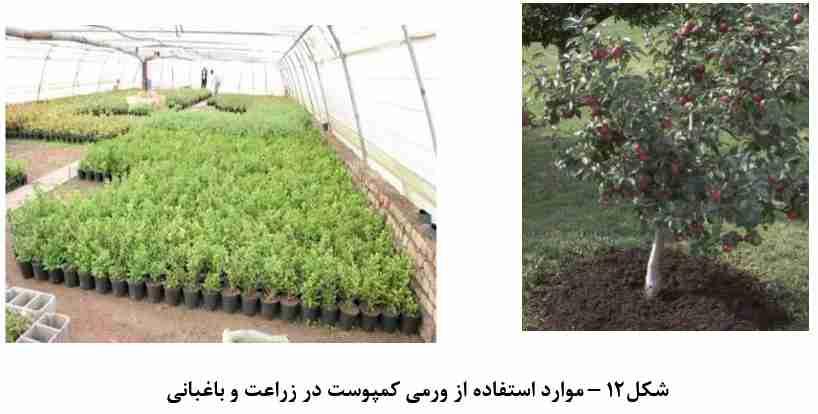موارد استفاده از ورمی کمپوست در زراعت و باغبانی ( مزایای ورمی کمپوست )