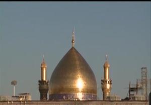 دانلود فیلم رونمایی از گنبد جدید حرم حضرت علی (ع)