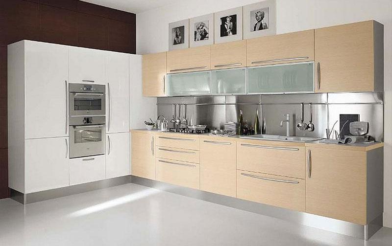 طرح کابینت شیک و ساده برای آشپزخانه