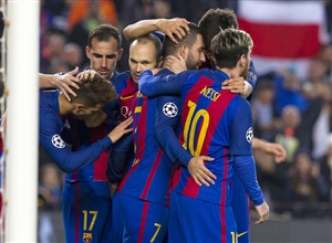 نتیجه بازی دیشب بارسلونا و اسپانیول 28 آذر 95 فیلم خلاصه و گلها