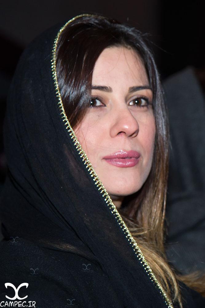 سارا بهرامی در اکران خصوصی فیلم گیتا