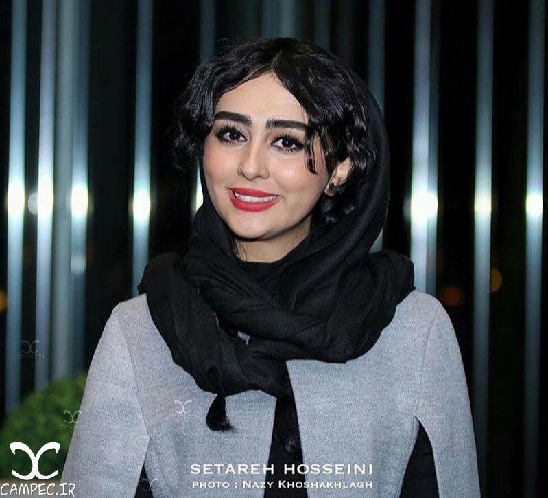 ستاره حسینی در اکران فیلم وارونگی