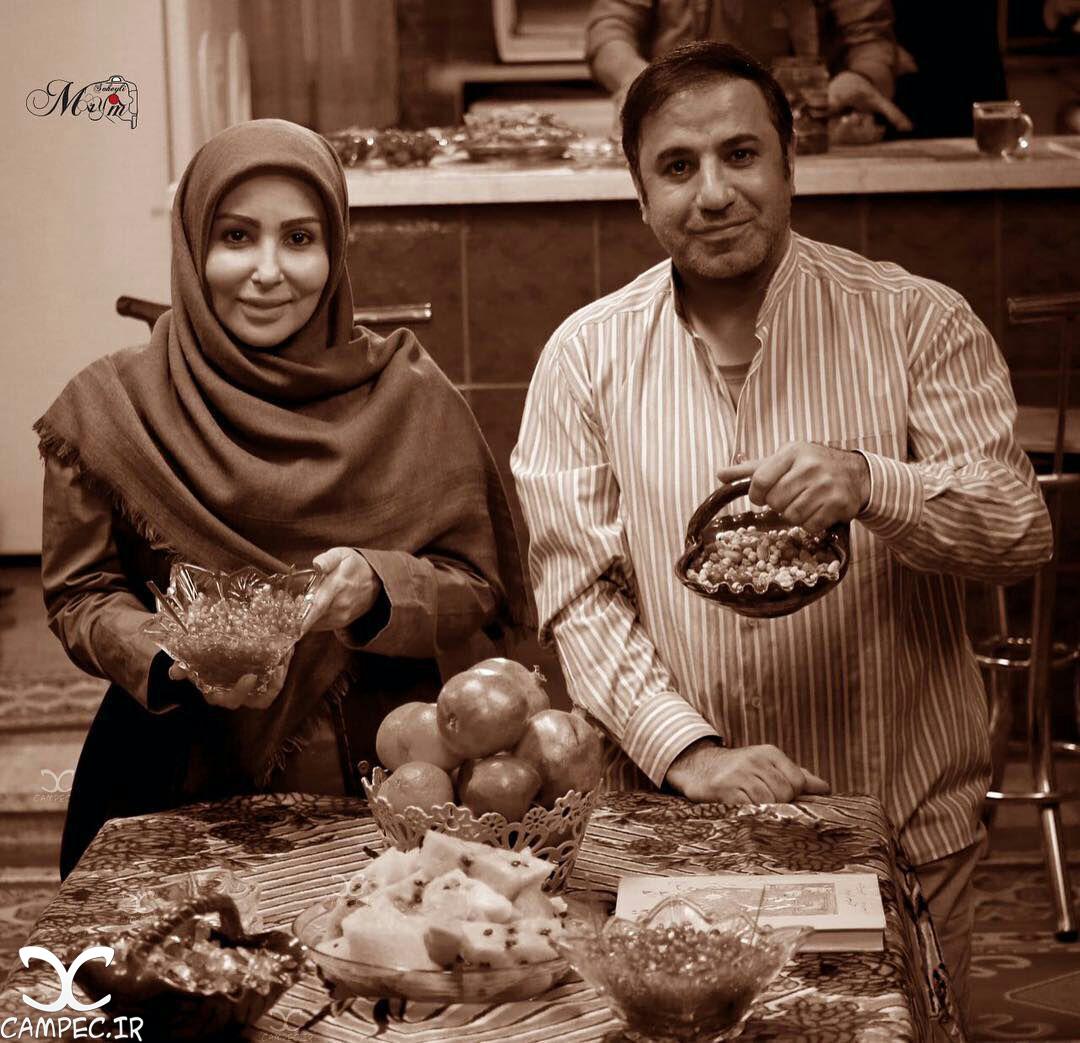 علی سلیمانی و پرستو صالحی به مناسبت شب یلدا