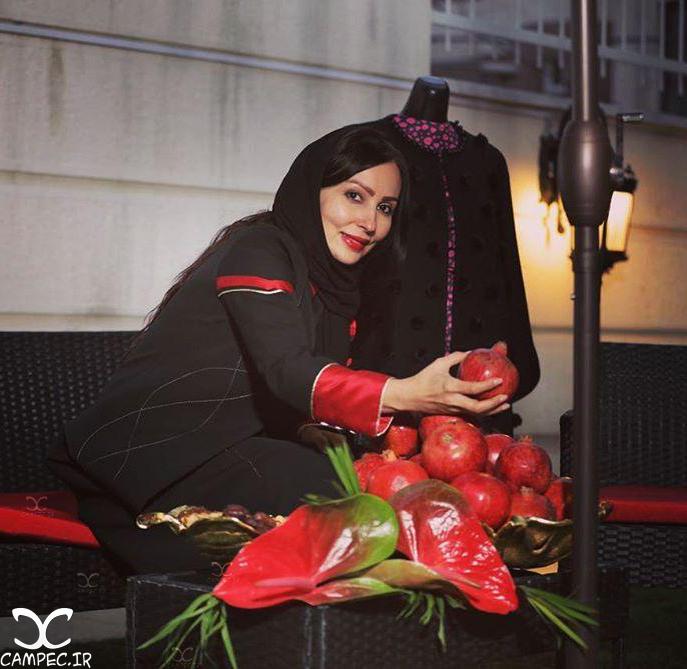 عکس پرستو صالحی به مناسبت شب یلدا