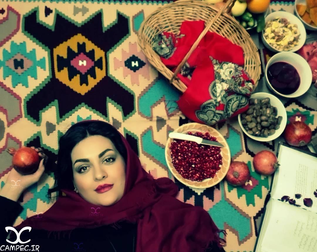 لیلا ایرانی در شب یلدا 95