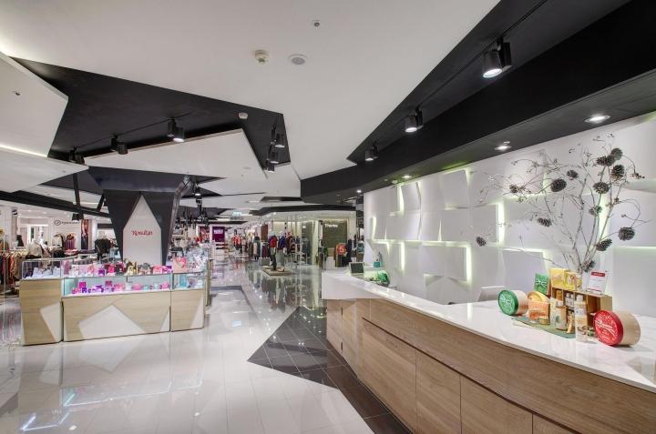 طراحی مرکز خرید و شاپینگ مال1