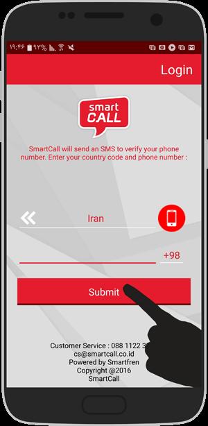 آموزش تصویری ساخت شماره ی مجازی خارجی SmartCall اسمارت کال