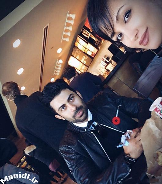 عکس روناک یونسی و همسرش محسن میری در کانادا