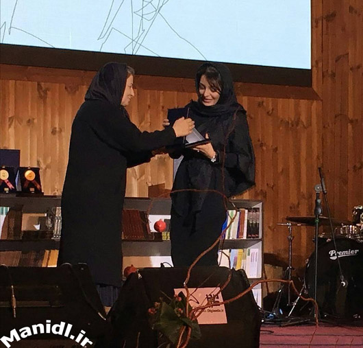 عکس ساره بیات در جشن شب چله چلچراغ
