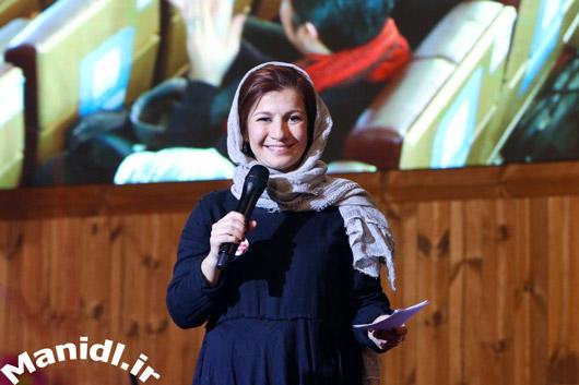 عکس لیلی رشیدی در جشن شب چله چلچراغ