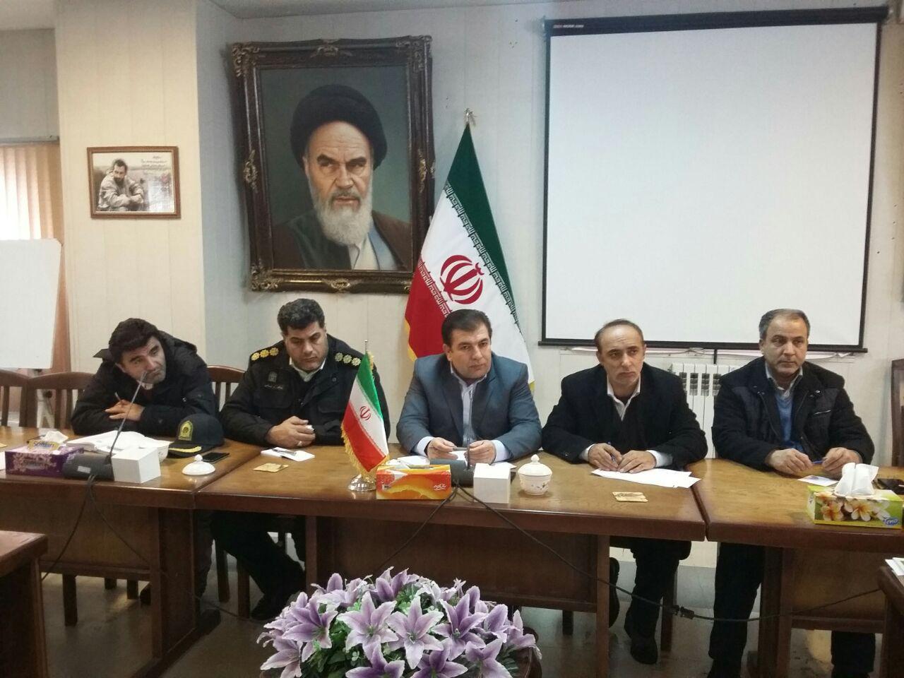 یدالله الهیاری یداله الهیاری در نشست شورای ترافیک آذرشهر