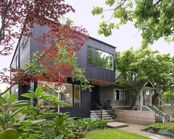 طراحی و اجرای اقامتگاه ویلایی در کانادا