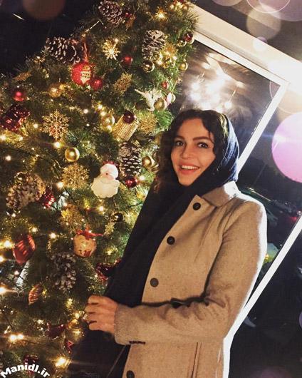 فریبا آهنگ در کریسمس 2017