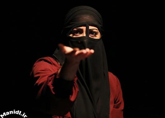 عکس طناز طباطبایی در نمایش نامه های عاشقانه از خاورمیانه