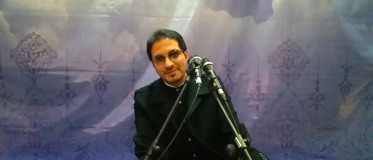 تلاوت سوره های مبارکه یوسف و حاقه - 17 اسفند 94 - مجتمع امام رضا علیه السلام