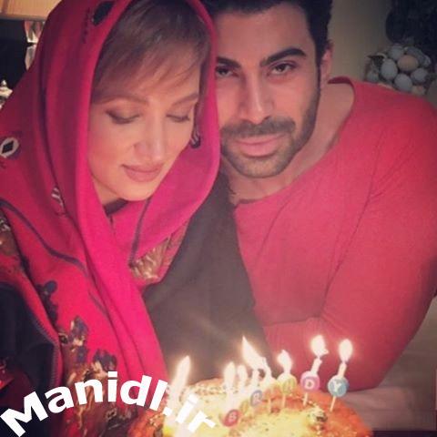 جشن تولد روناک یونسی در کنار همسرش