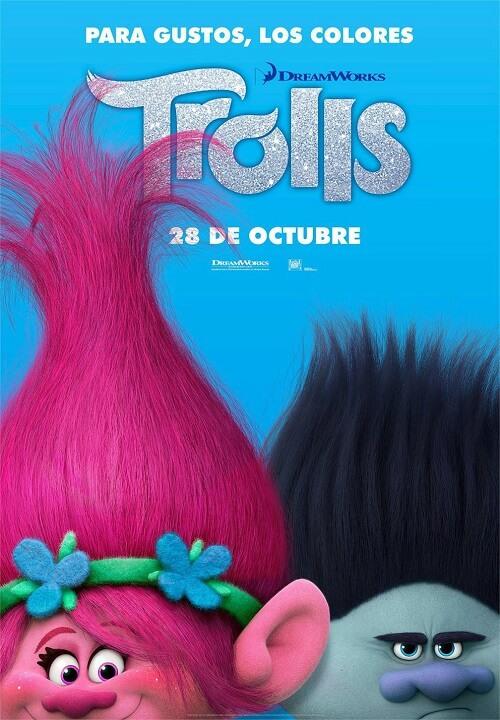 دانلود انیمیشن ترول ها 2016 Trolls دوبله فارسی