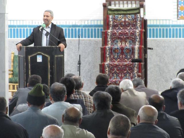 مراسم گرامیداشت حماسه 9 دی با سخنرانی سرهنگ علیرضا نظری (معاون سیاسی سابق سپاه استان قم)