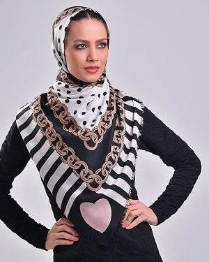 روسری زنانه نخی