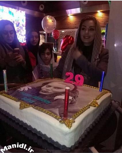 عکس جشن تولد 29 سالگی سحر قریشی