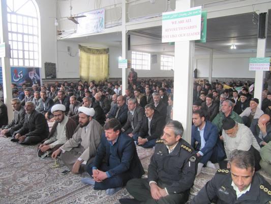 برگزاری پرشکوه مراسم 9 دی در شهر گرماب