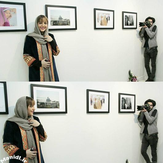 عکس جدید لیلا برخورداری در نمایشگاه عکس زمستان است
