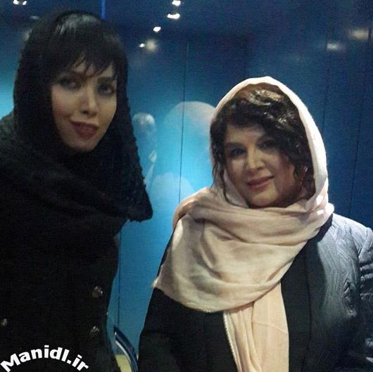 عکس شهره سلطانی در کنسرت رضا صادقی