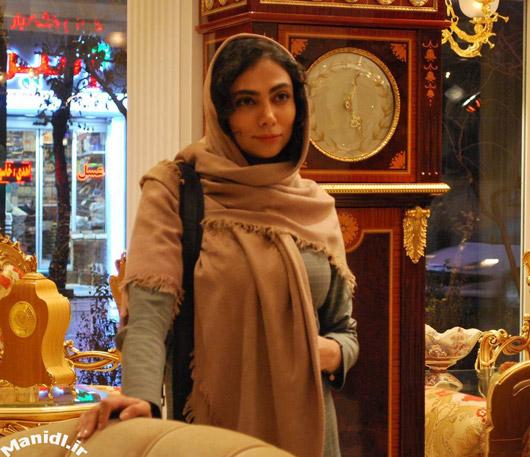 عکس غزل عبدی در نمایی از فیلم سکوت