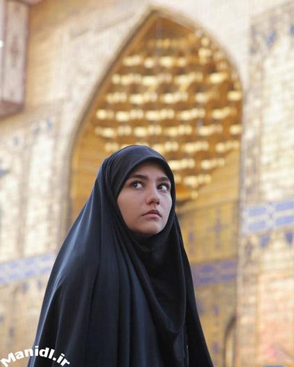 عکس سارا بهارلو در نجف اشرف