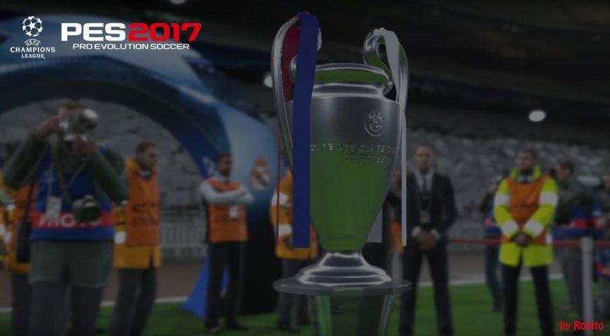 کاپ های UEFA برای PES 2017