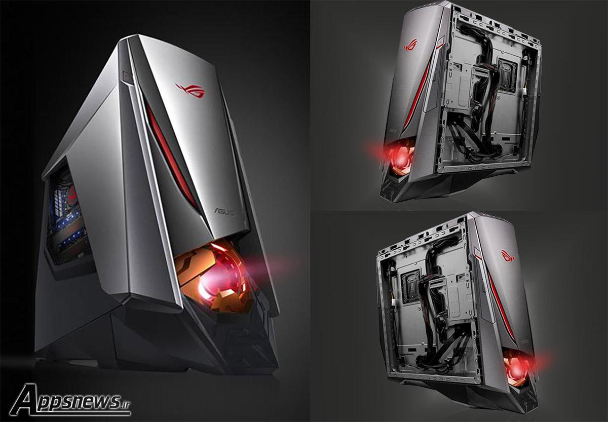 ایسوس از کامپیوتر گیمینگ جدید خود با نام ROG GT51CH رونمایی کرد