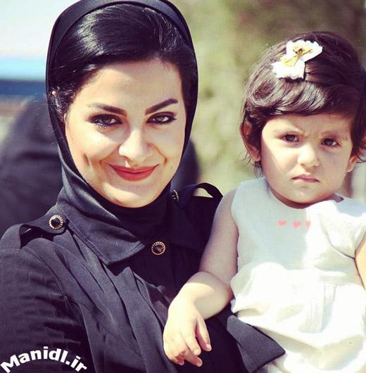 عکس لیلا ایرانی و دخترش دیانا