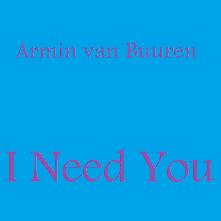 armin van buuren i need you