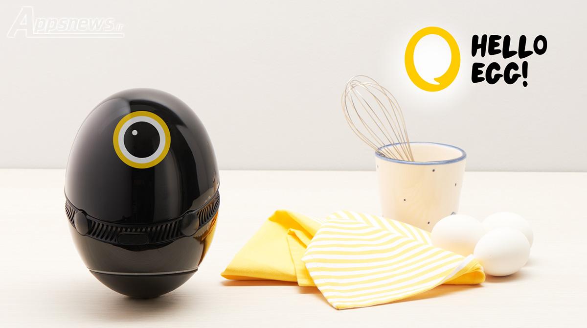 Hello Egg - CES 2017، دستیار هوشمند آشپزخانه رونمایی شد