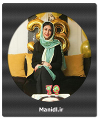 عکسهای جدید آزاده صمدی در جشن تولدش
