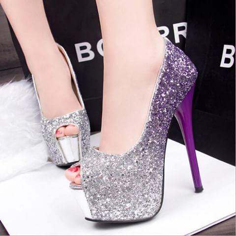 مدل کفش پاشنه بلند دخترانه سری 1