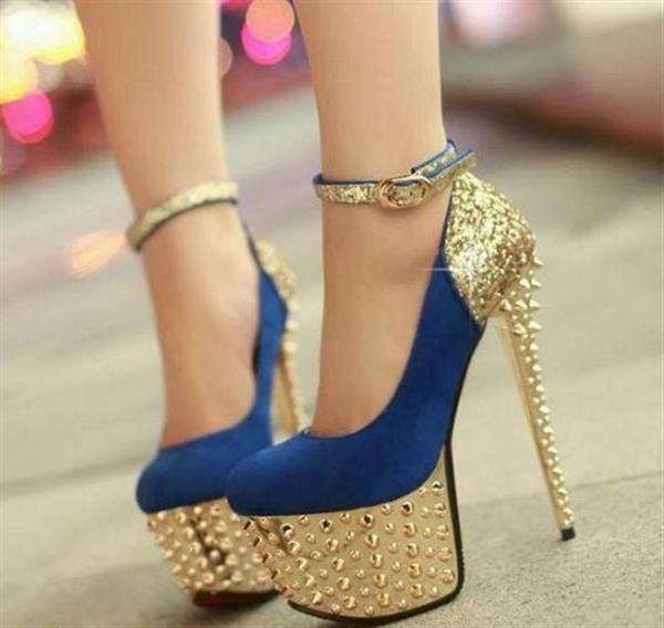 مدل کفش پاشنه بلند دخترانه سری 12