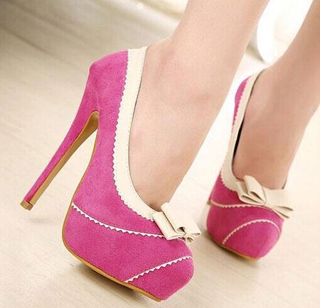 مدل کفش پاشنه بلند دخترانه سری 26