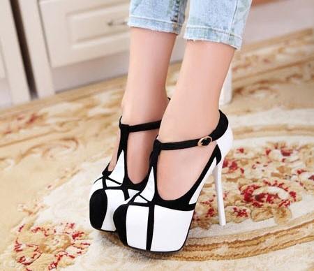 مدل کفش پاشنه بلند دخترانه سری 30