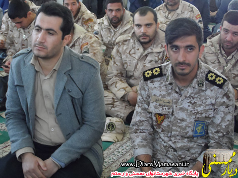 حضور نیروهای پایور و وظیفه پادگان شهید مدنی در مراسم بزرگداشت رحلت آیت الله هاشمی رفسنجانی