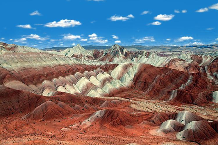 کوههای میانه