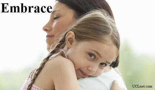 Embrace - آموزش لغات کتاب ۵٠۴ – English Vocabulary – کدینگ لغات ۵٠۴